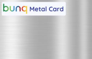 bunq metal card