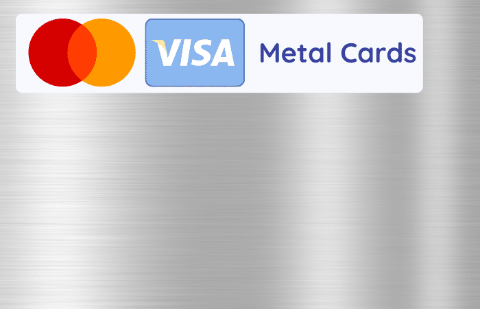 metal cards digital banks