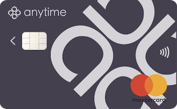 anytime bank card