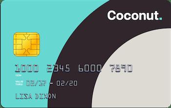 coconut bank card