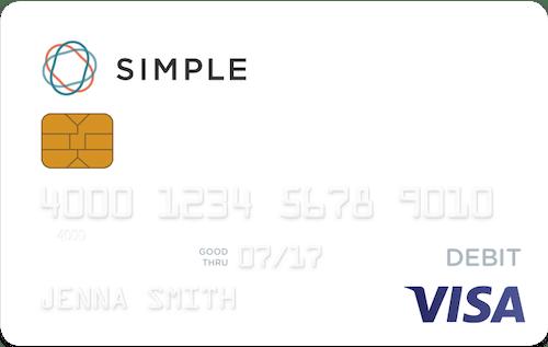 simple bank card