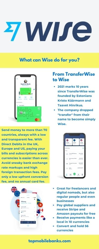 wise review infographic