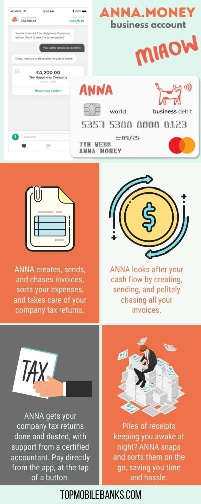 Anna money infographic