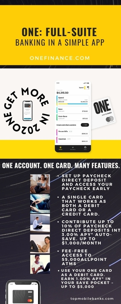 one finance infographic