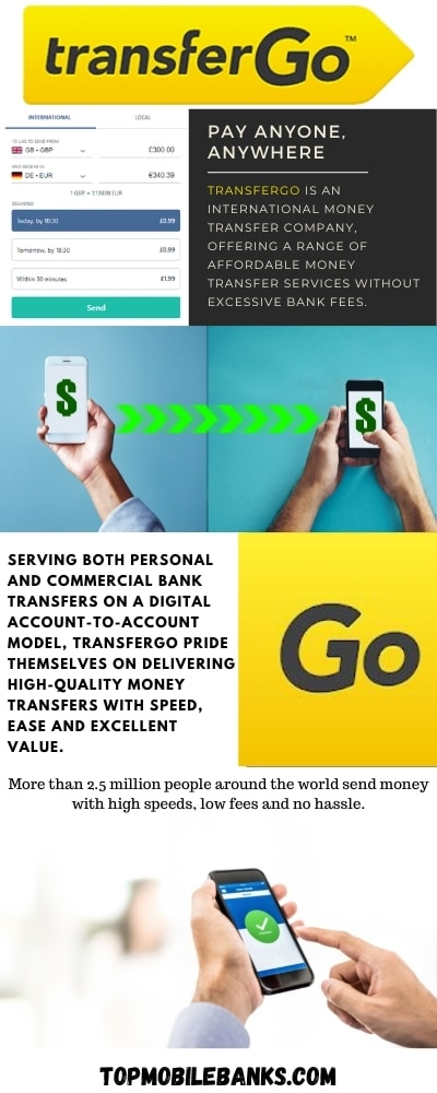 TransferGo Review infographic