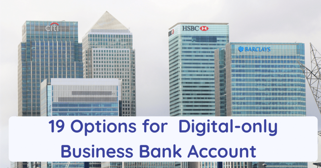 digital business bank account