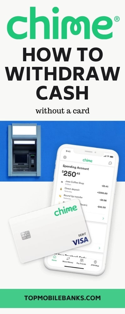 Can I Withdraw Money From Chime Without My Card