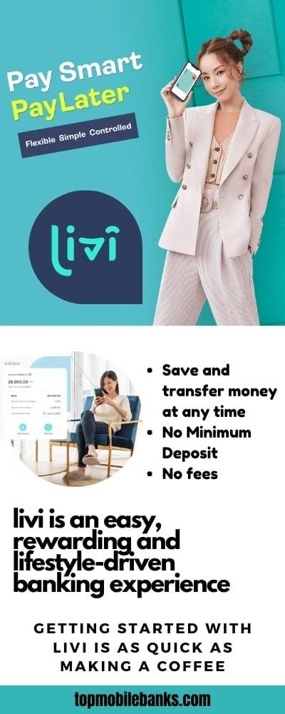 livi bank review