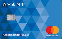 avant credit builder card
