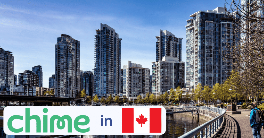 is chime bank in canada