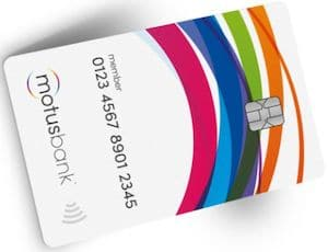 motusbank card