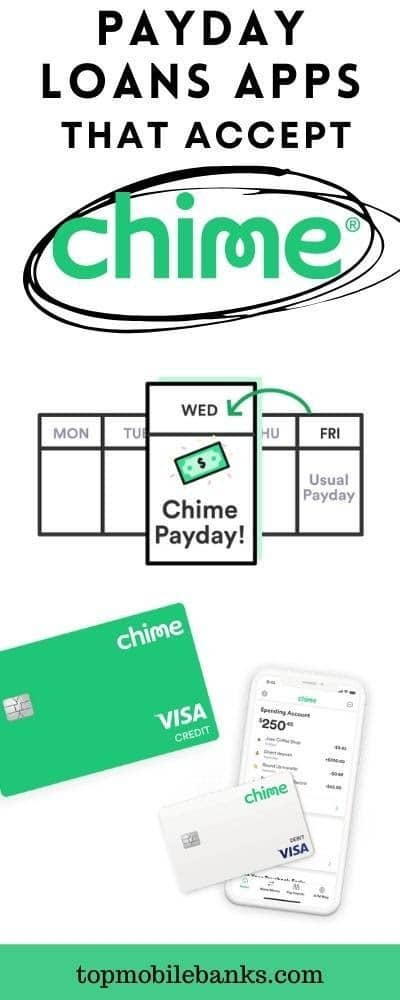 payday loan apps that accept chime