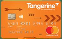 tangerine bank card