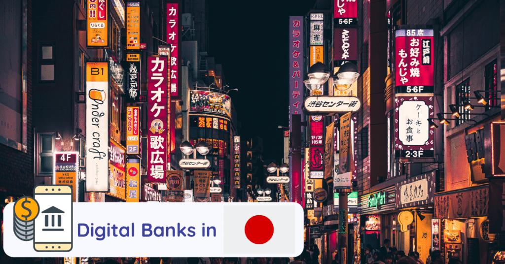 digital banks japan