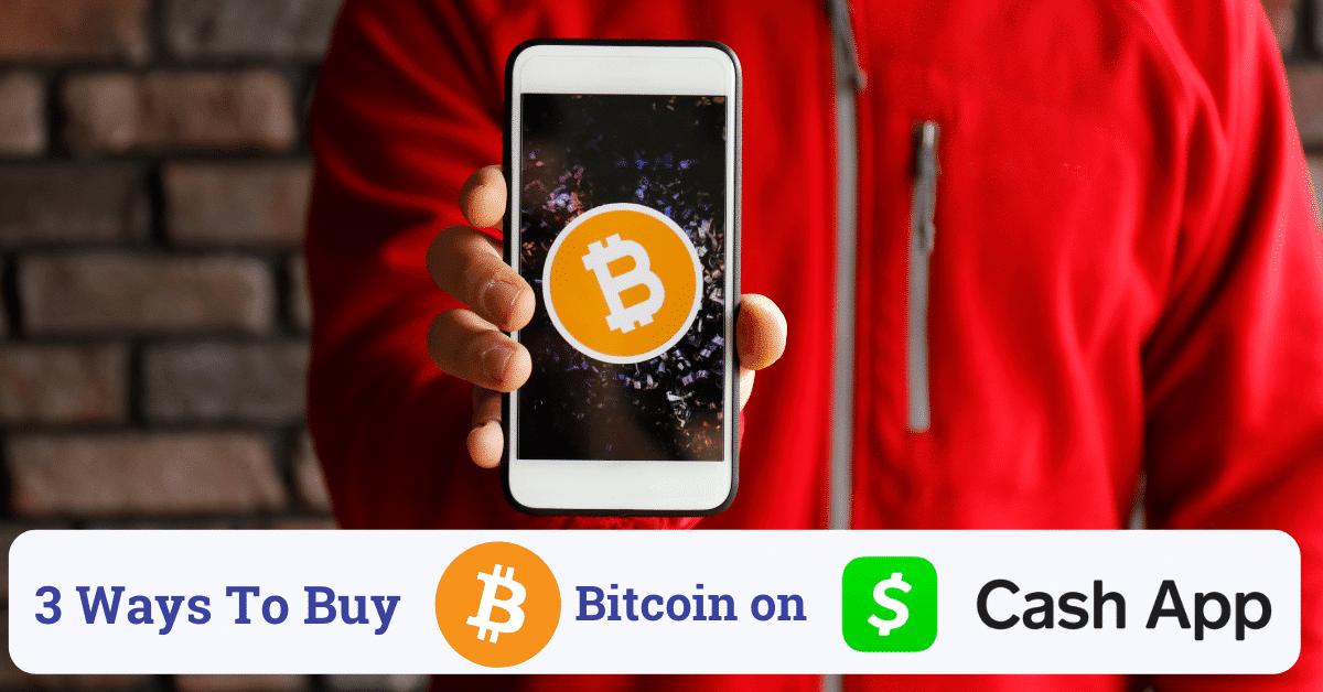 how to buy bitcoin on cash app